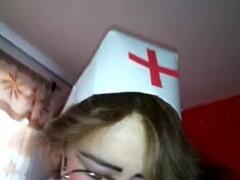 Sexy nurse makes me a private Thumb