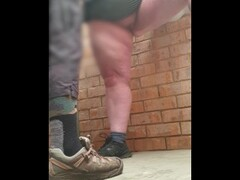 CUTE CHUBBY GETS IT IN PUBLIC TOILETS & HER MAN MAKES HER SQUIRT HARD Thumb