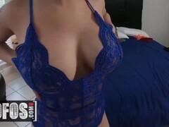 MOFOS - First time lesbians Natalie Brooks, Serena Skye rub pussy Thumb