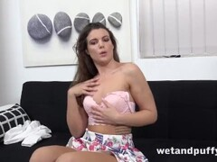 Petite Teen With Small Tits Toys Herself Thumb