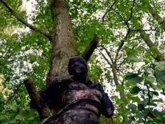 Bodymod star Suma in the stinkiest forest mud hole ever, with Fräulein Kranzi Thumb