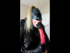 Latex Blowjob Up Close and Personal, Soft Dirty Talk, Relaxing Voice Thumb
