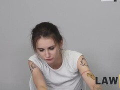 law4k. nice girl adelle unicorn gets fucked in interrogation Thumb