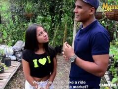 Carne Del Mercado - Tiny Teenage Busty Latina Seduced By Her Horny Neighbor Thumb