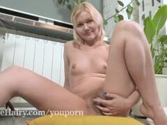 Gerda Lu masturbates after watering her plants Thumb