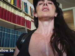 HAIRY BITCH WOMAN COP WITH MONSTER TITS Thumb