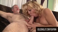Golden Slut - Older Ladies Show off Their Cock Sucking Skills Compilation 18 Thumb